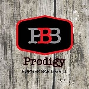This is the restaurant logo for Prodigy Burger and Bar