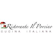 This is the restaurant logo for Ristorante Il Porcino