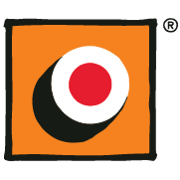 This is the restaurant logo for Sushi Maki